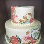 Custom flower cake maryland