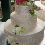 Shimmering custom wedding cakes maryland