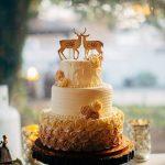 Wedding cake by Rita deer and doe Berlin MD