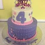 Custom Princess Tiara birthday cake by Rita Berlin, MD