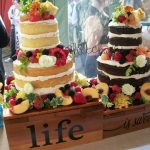 Two Custom Cakes display Desserts by Rita OCMD