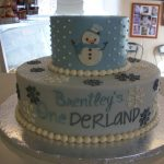 custom Birthday cake ocean city md Snowman