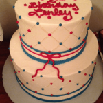 Custom Dots birthday cake by Rita OCMD