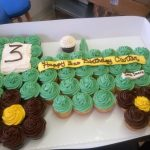 Custom cupcake truck desserts by Rita