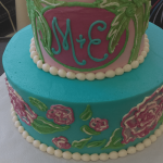 Custom Initials cake in Maryland