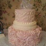 custom desserts ocean city md delicate pink cake