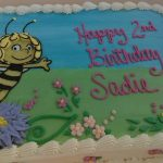 Custom Maya the Bee Birthday Cake desserts by rita berlin md