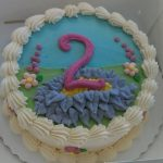 Custom Second Birthday Cake By Rita
