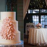 Custom wedding cakes pink blossom havre de grace md