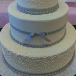 wedding cakes ocean city md Snow white wedding cake