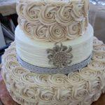 Desserts by Rita Berlin MD Roses Wedding Cake