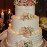 Custom Wedding Cakes in Berlin MD Blush rose cake