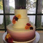 Custom Wedding Cake ombre Ocean City MD