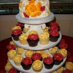 Wedding Desserts by Rita Cupcake Tower