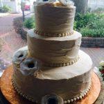 Custom Cakes by Rita White Poppy Flower Cake