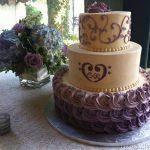 Custom cakes maryland ombre wedding cake