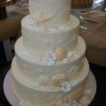Ocean City MD custom wedding cake by Rita