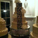 Custom desserts by rita havre de grace md Lace wedding cake
