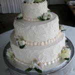 Custom Wedding Cake by Rita
