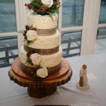 Custom wedding cakes by Rita Christmas Wedding