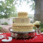Monogram Cake by Rita Berlin MD