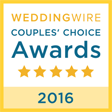 weddingwire 2016 award winner